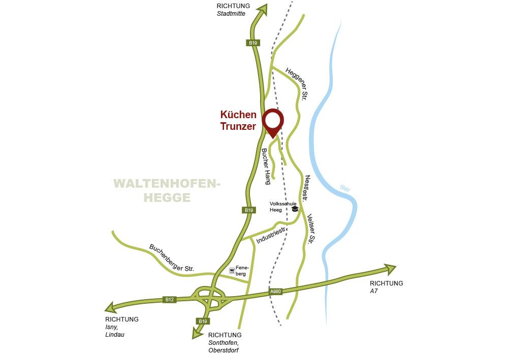 Der Weg Zu Uns Kuchen Kempten Trunzer Allgau